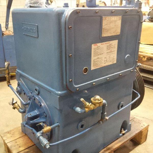 Rear view stokes vacuum pump